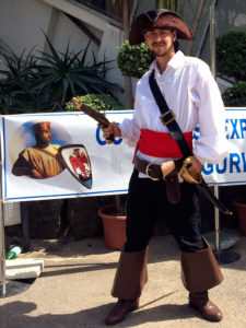 Capt Jack Sparrow, at Exposition Figuri'Nice 2014