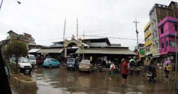 Rain on Imphal Street