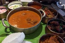 The Delicious Mutton Thali at Sanadige