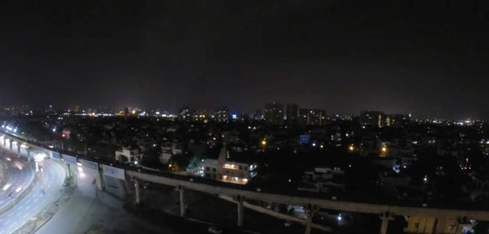 Gurgaon 24hrs Timelapse Video