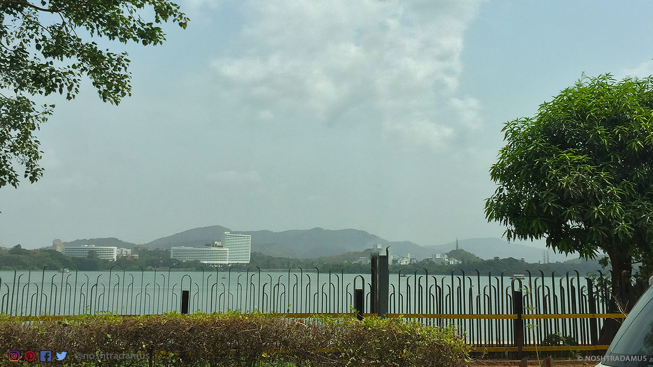 The refreshed and beautiful Powai Lake in Mumbai