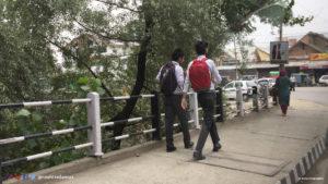 School Boys in Srinagar, Kashmir