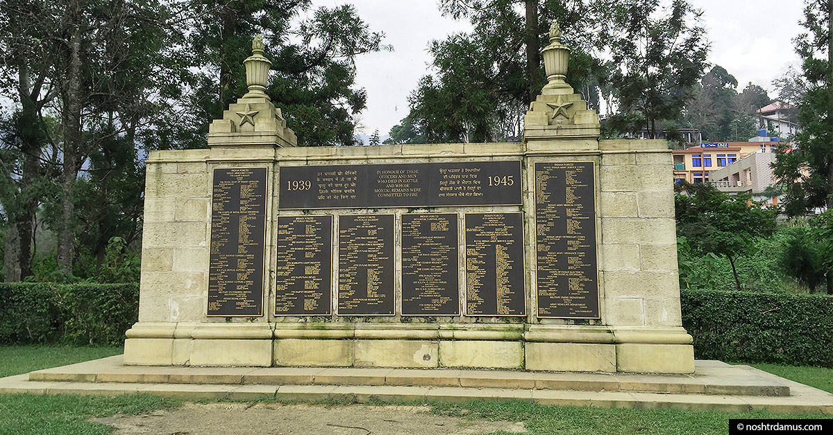 Kohima War Cemetary - Remembering the heroes of World War II