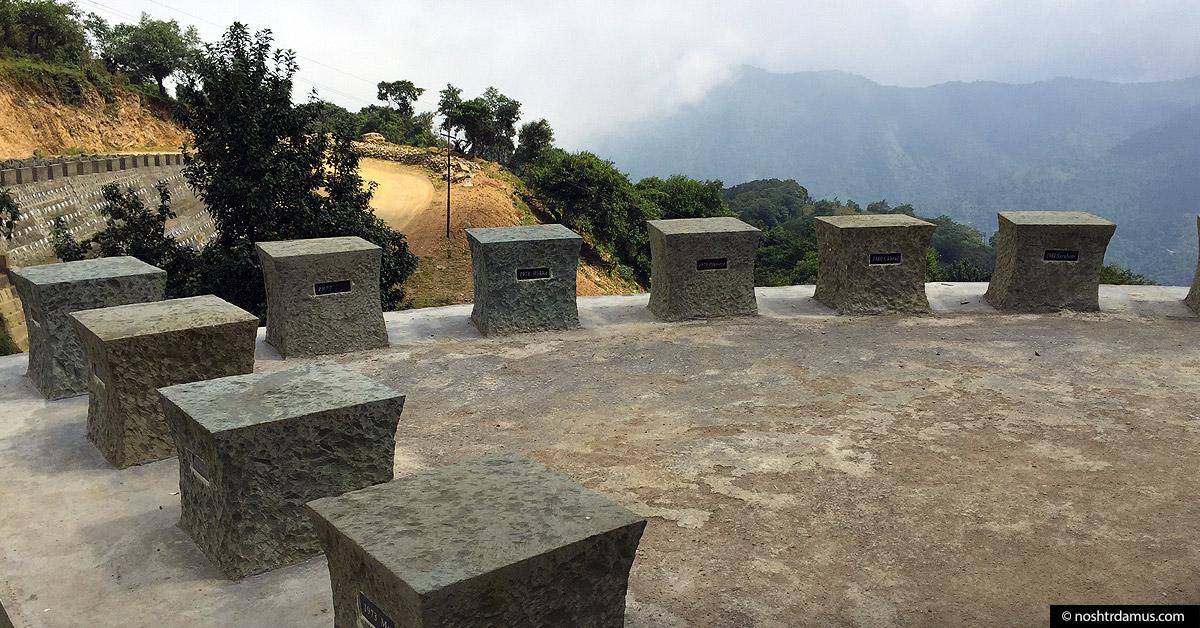 Peace Stones near Khonoma, Nagaland